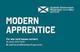 Modern Apprentice Smartcard